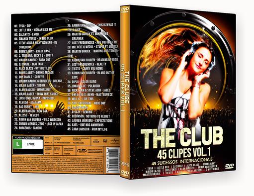 CAPA DVD – The Club 45 Clipes Vol.1 – ISO