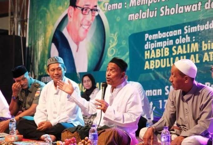 Habib Umar Muthohar: Tirulah Akhlak Nabi SAW, Bukan Fisiknya