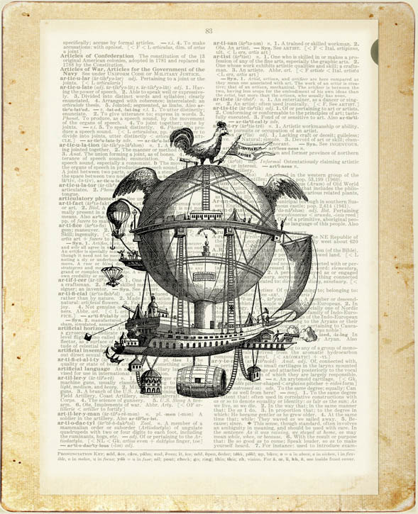 03-Vintage-Steampunk-Jean-Cody-Vintage-Dictionary-Page-Art-Prints-www-designstack-co