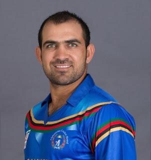 Samiullah Shenwari , never out in zero run