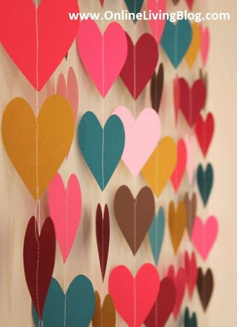 Paper-Heart-DIY-wall-Art