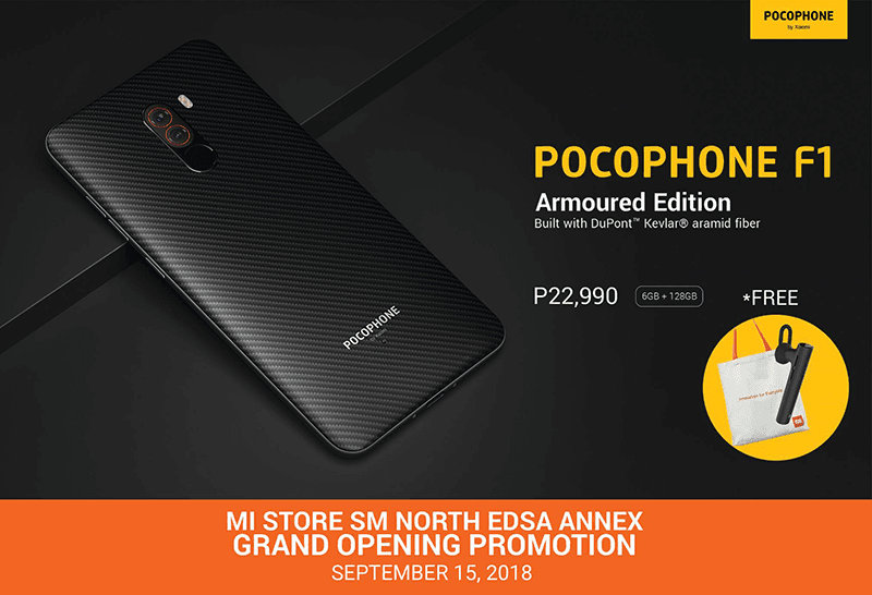 POCOPHONE F1 Armoured Edition will be available in the Philippines soon!