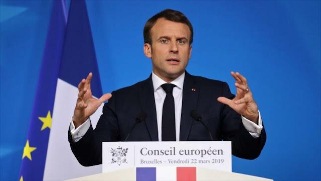 Macron urge a Europa a confrontar a EEUU y China