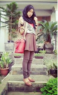 Baju Muslim Retro