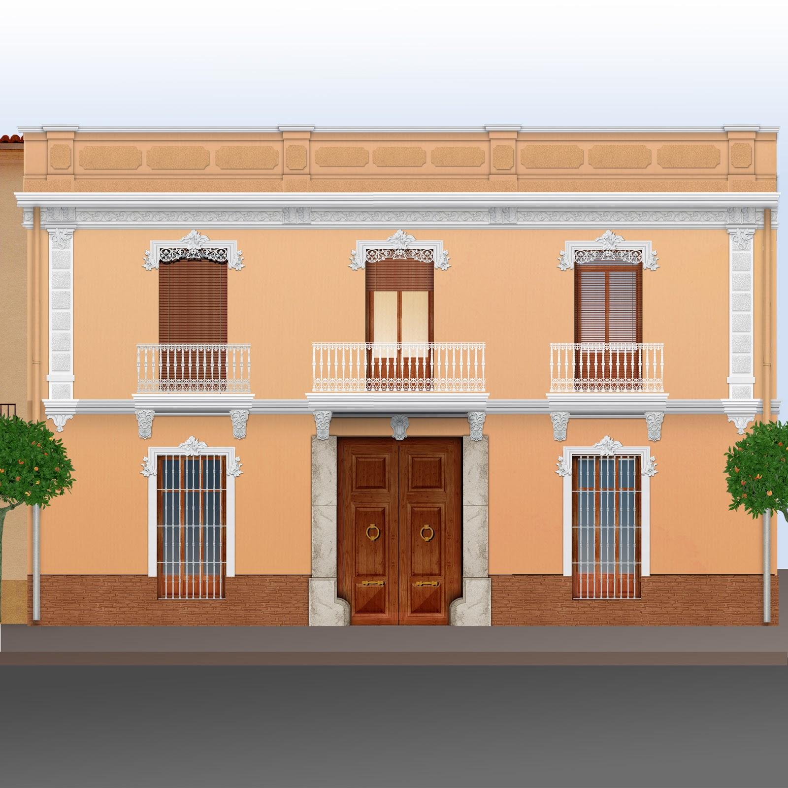 casa a dos manos, dibujo