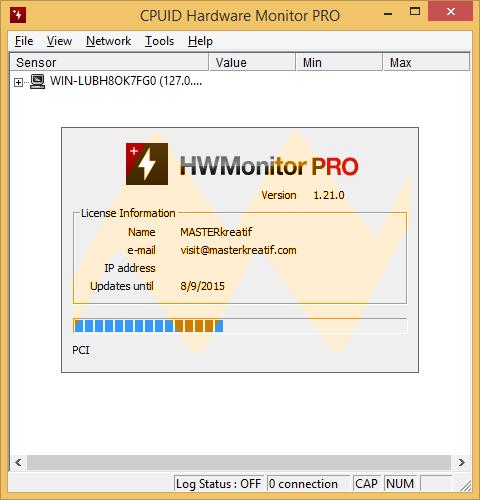 HWMonitor Pro 1.21 Full Keygen