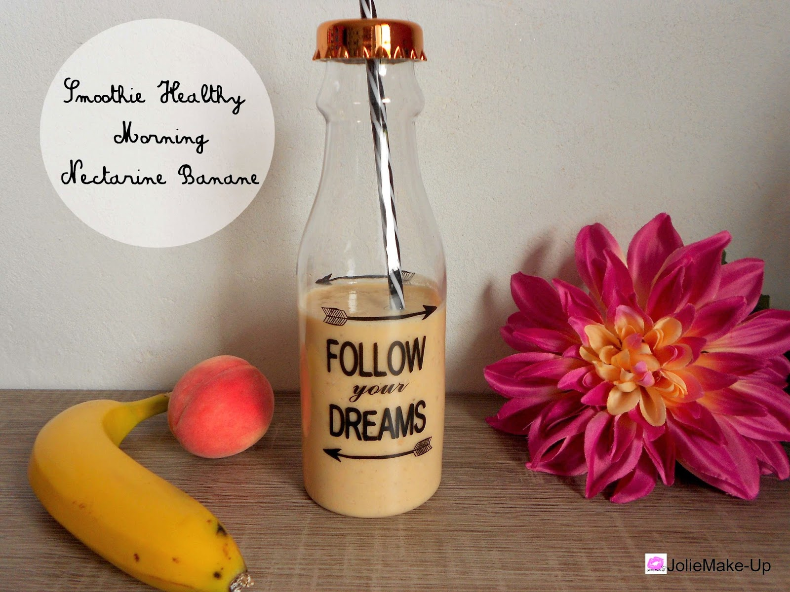 joliemake up recette smoothie healthy sp cial petit. Black Bedroom Furniture Sets. Home Design Ideas