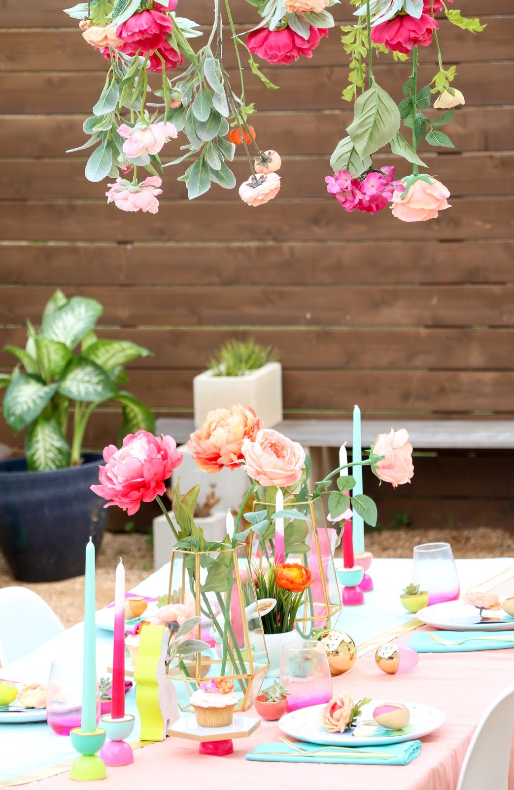 Style It u2013 A Spring Table Setting : spring table setting ideas - pezcame.com
