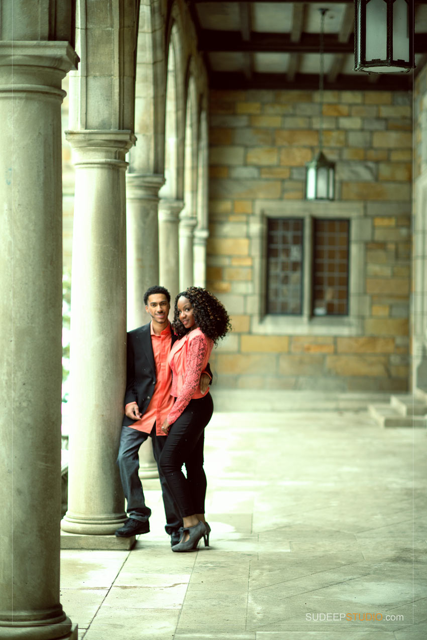 Downtown Ann Arbor Engagement session Photography - Sudeep Studio.com