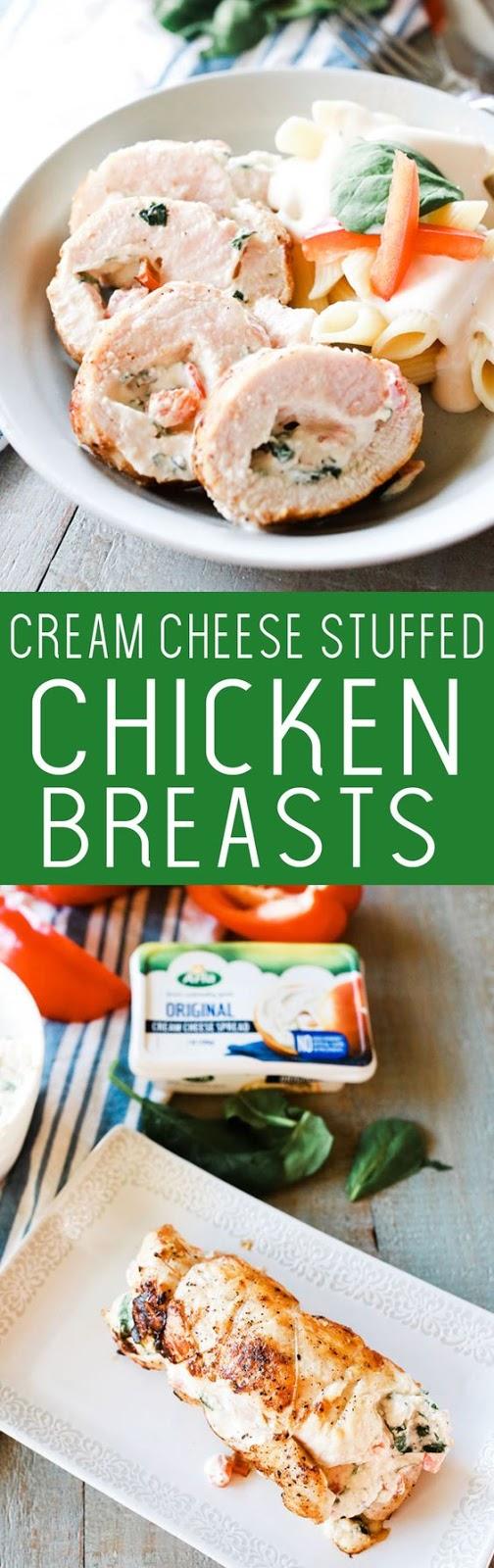 Cream Cheese Stuffed Chicken Breasts