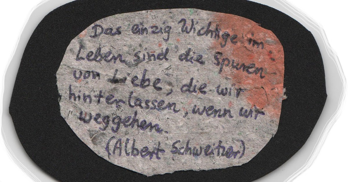 Zitate Leben Albert Schweitzer