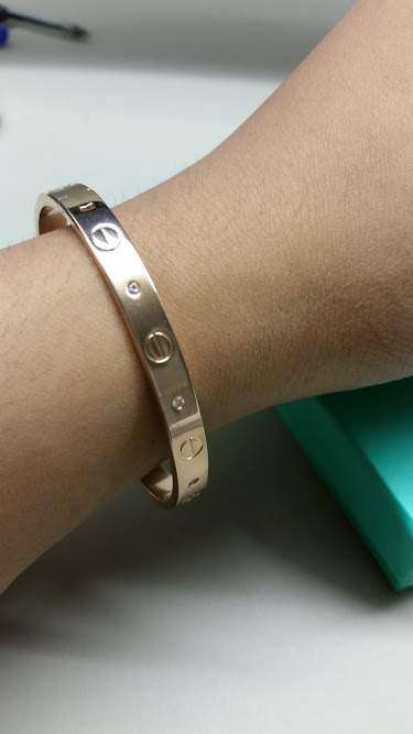 Ebay Find - Cartier Love Bracelet
