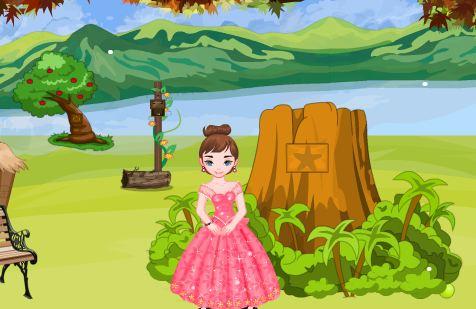 Princess Pinky Escape From Island Walkthrough