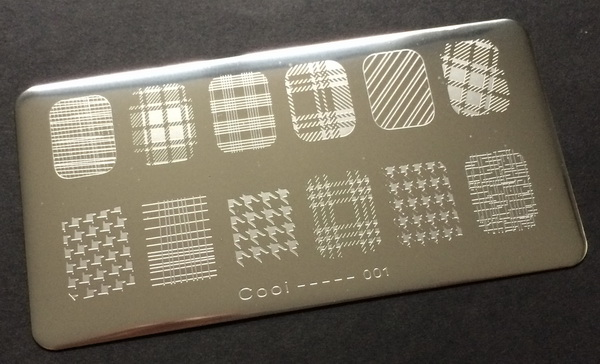 Cooi 1 stamping plate at BornPretty