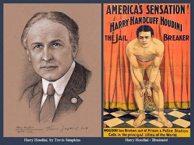Harry Houdini. Magician, Illusionist, Escape Artist and Freemason. by Travis Simpkins