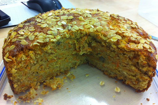 Bran Cake Recipe Low Fat: TastyFoodieGoodness: Carrot, Banana, Oat And Bran Cake