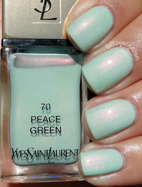 YSL Peace Green