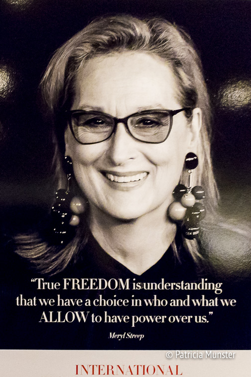 Meryl Streep on True FREEDOM