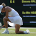 Wimbledon 2018: In Pictures Simona Halep beaten by Su-Wei Hsieh