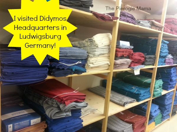 the pierogie mama visiting didymos in ludwigsburg. Black Bedroom Furniture Sets. Home Design Ideas
