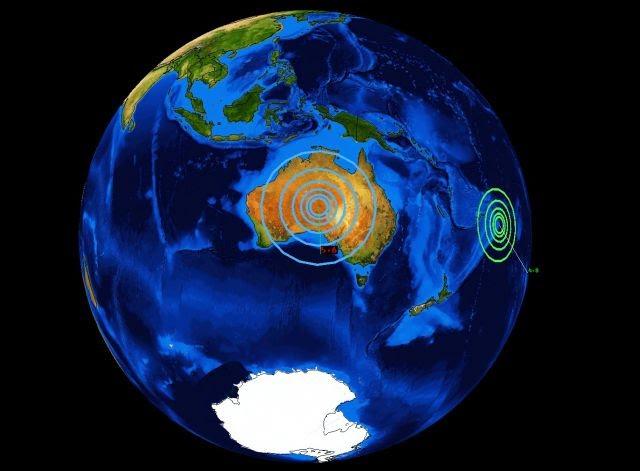 Image result for terremoto en australia
