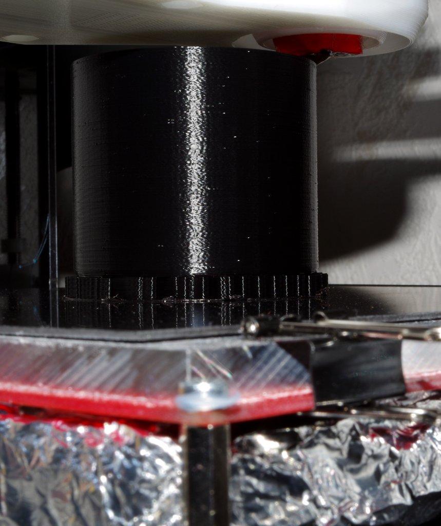 DIY - 3D-Druck Adpter für ein Projektionsobjektiv