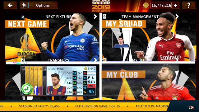 Dream League Soccer 2019 Mod Uefa Europa League