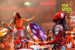 Moises Lama - Festival Día del Samba Reggae en Barcelona