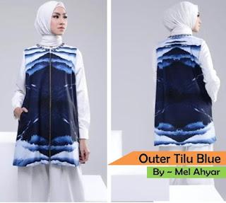 Model Outer Batik Modern