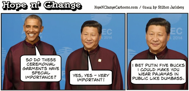 obama, obama jokes, political, humor, cartoon, hope n' change, hope and change, stilton jarlsberg, beijing, china, net neutrality