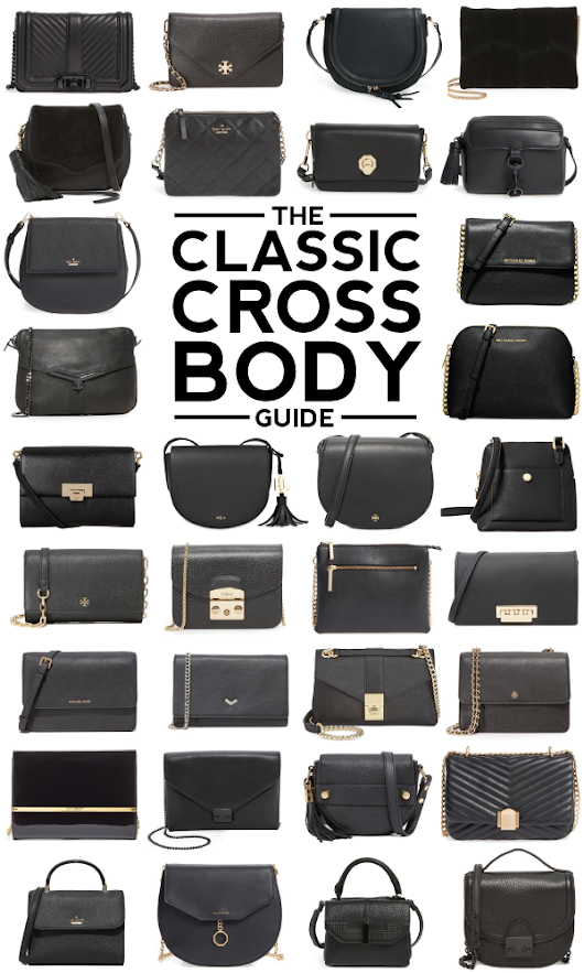 the classic cross body guide.