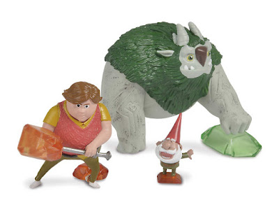 Toys - TROLLHUNTERS Pack : 3 Figuras - Muñecos | Toby - Argh - Gnomo  Simba 2018 | Dreamworks Trollhunters Cuentos de Arcadia | A partir de 4 años  COMPRAR JUGUETE