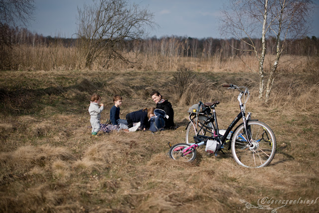 rowerowa wycieczka z dziećmi, mikrowyprawy, rowery z dzieckiem