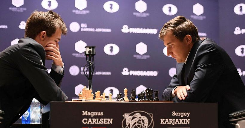 AjedrezUruguay: Match Carlsen-Karjakin: evolución partida