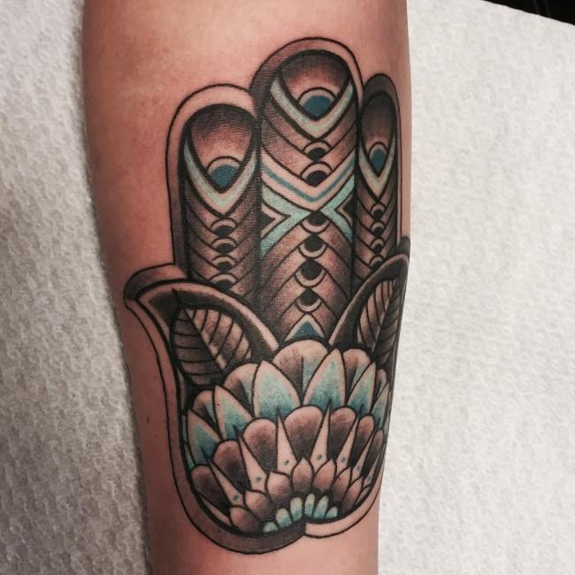 tatuajes mano de fatima