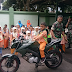 70 Siswa-siswi TK Islam Terpadu Baitussalam Kunjungi Markas Kodim 0703/Cilacap
