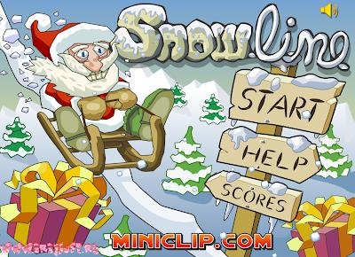http://www.miniclip.com/games/snow-line/en/snowline.swf