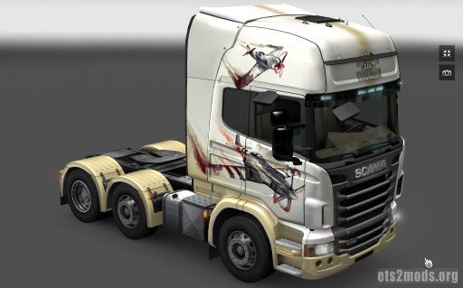 Scania War Thunder Skin
