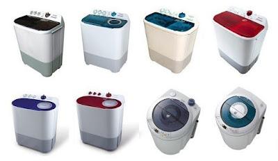 Daftar Harga Mesin Cuci Terbaru
