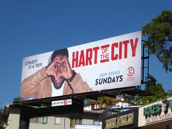 Hart of the City series premiere billboard