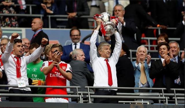 Arsen Wenger Rajanya FA Cup