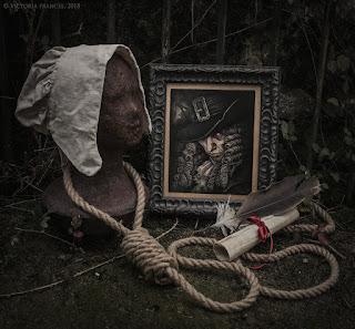 """The Witchfinder"" Original Art by Victoria Francés"