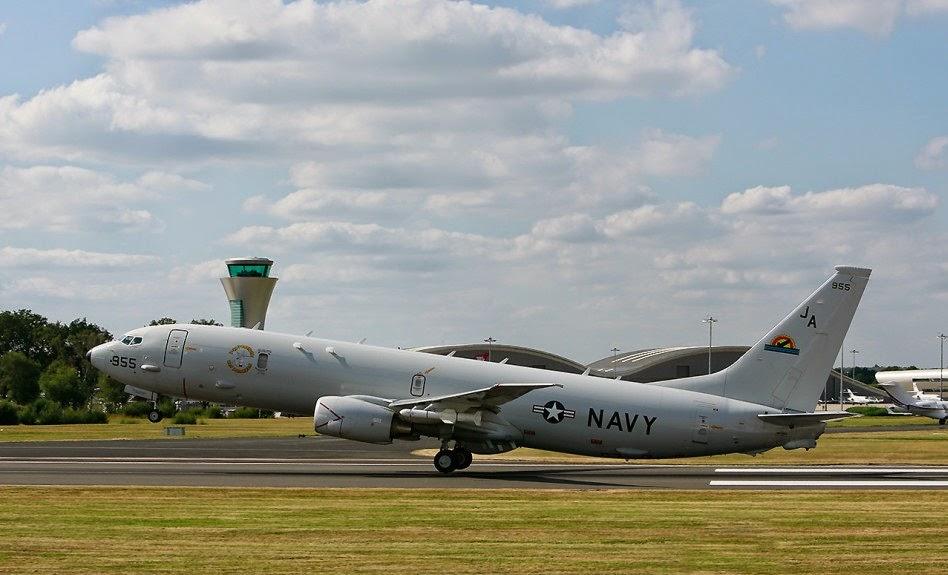 Asian Defence News: Boeing Poseidon P8-A at Farnborough 2014
