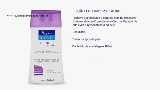 Loção de Limpeza Facial Nupill