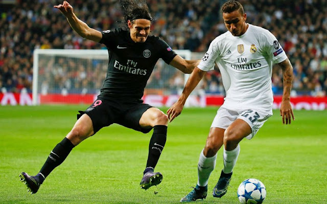 el psg cae 1-2 ante el real madrid y queda fuera de la champions league