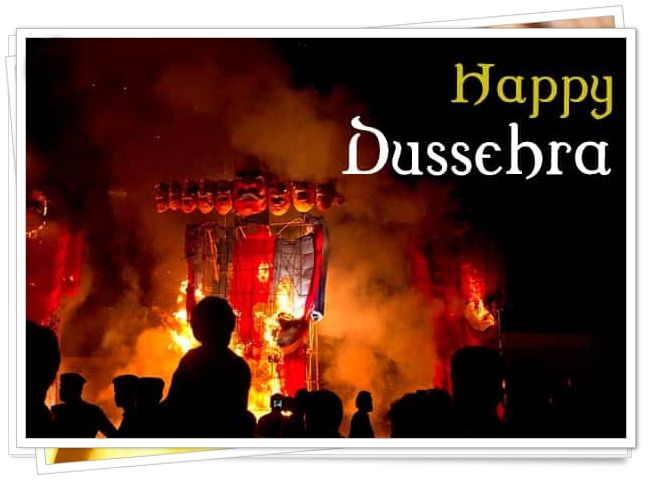 dussehra festival essay in hindi