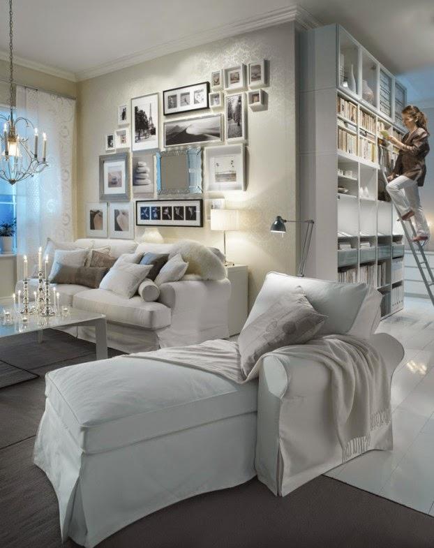 elegante sala pequeña