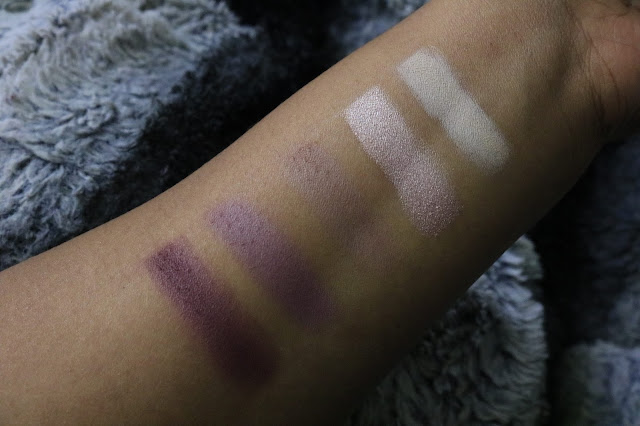 Carli Bybel BH Cosmetics Eyeshadow Swatches