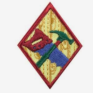 follow the leader cadettes wood work badge