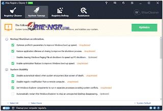 Wise Registry Cleaner Pro 9.46 Build 618 Full Terbaru